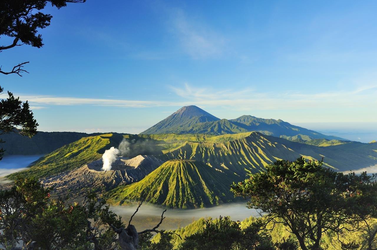 Вулкан Бромо. Индонезия.