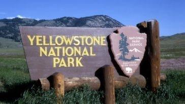 Йеллоустоунский парк - главная достопримечательность США