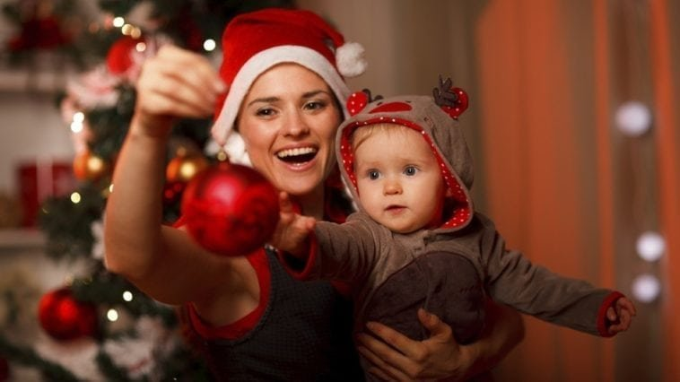 Новогодний праздник с детьми