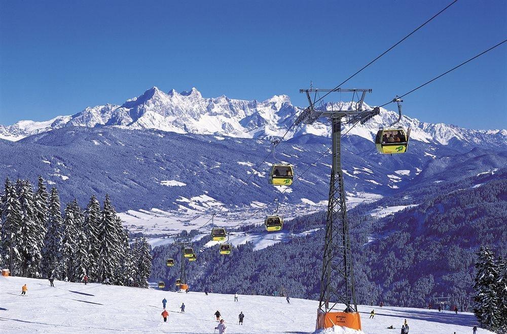 Австрийские горнолыжные курорты
