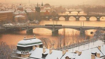 Увидеть зимнюю Прагу. Тур в Чехию на 6 ночей за 23 686 р., вылет 04 февраля.
