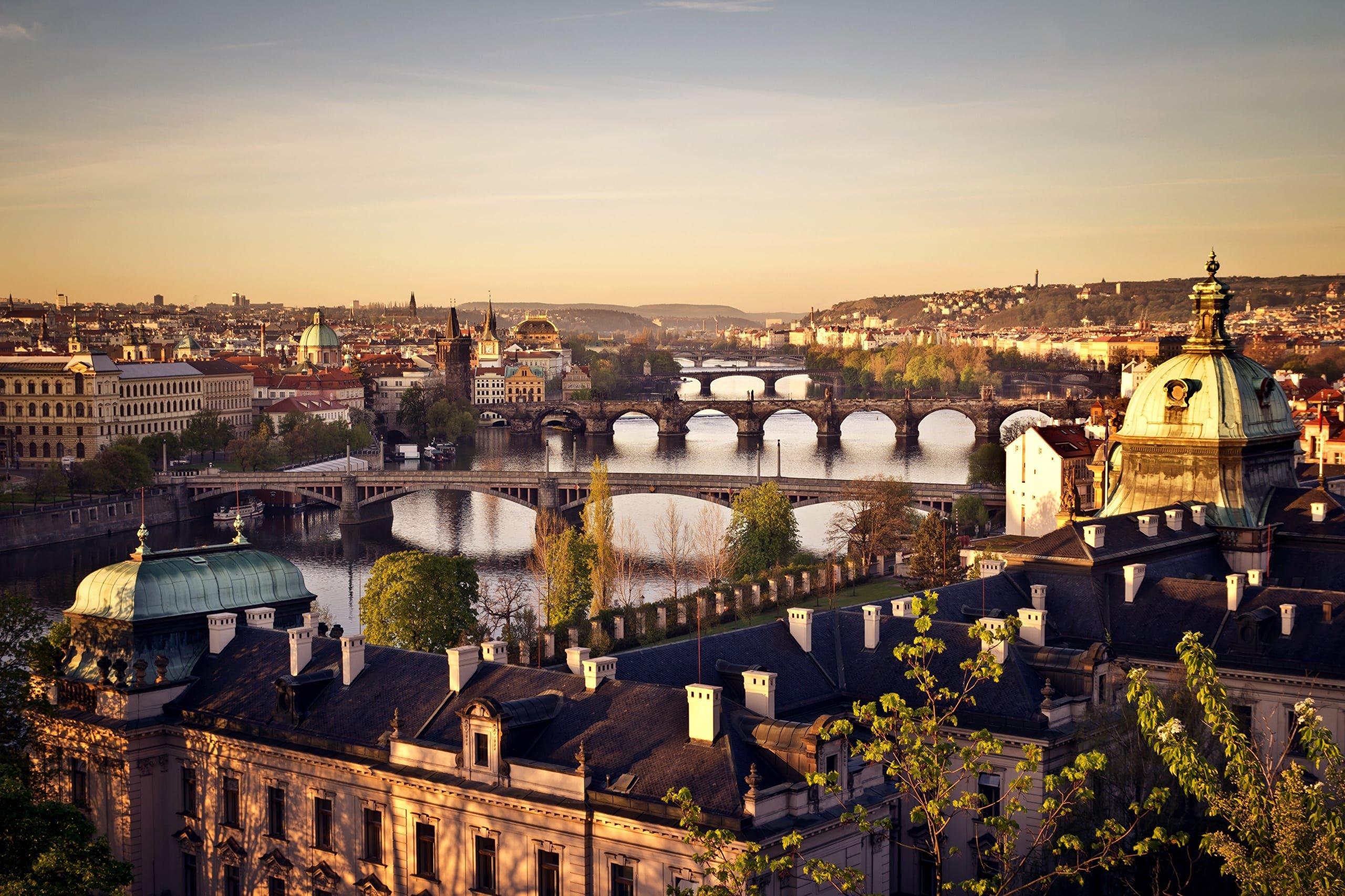 Бюджетный тур в Прагу. 5 ночей с 24 декабря за 24 951 р