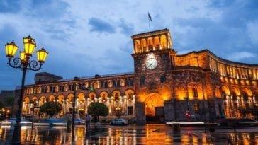Отличная цена на тур в Ереван. Тур на двоих в Армению на 7 ночей всего за 43 581 р., вылет 23 сентября.