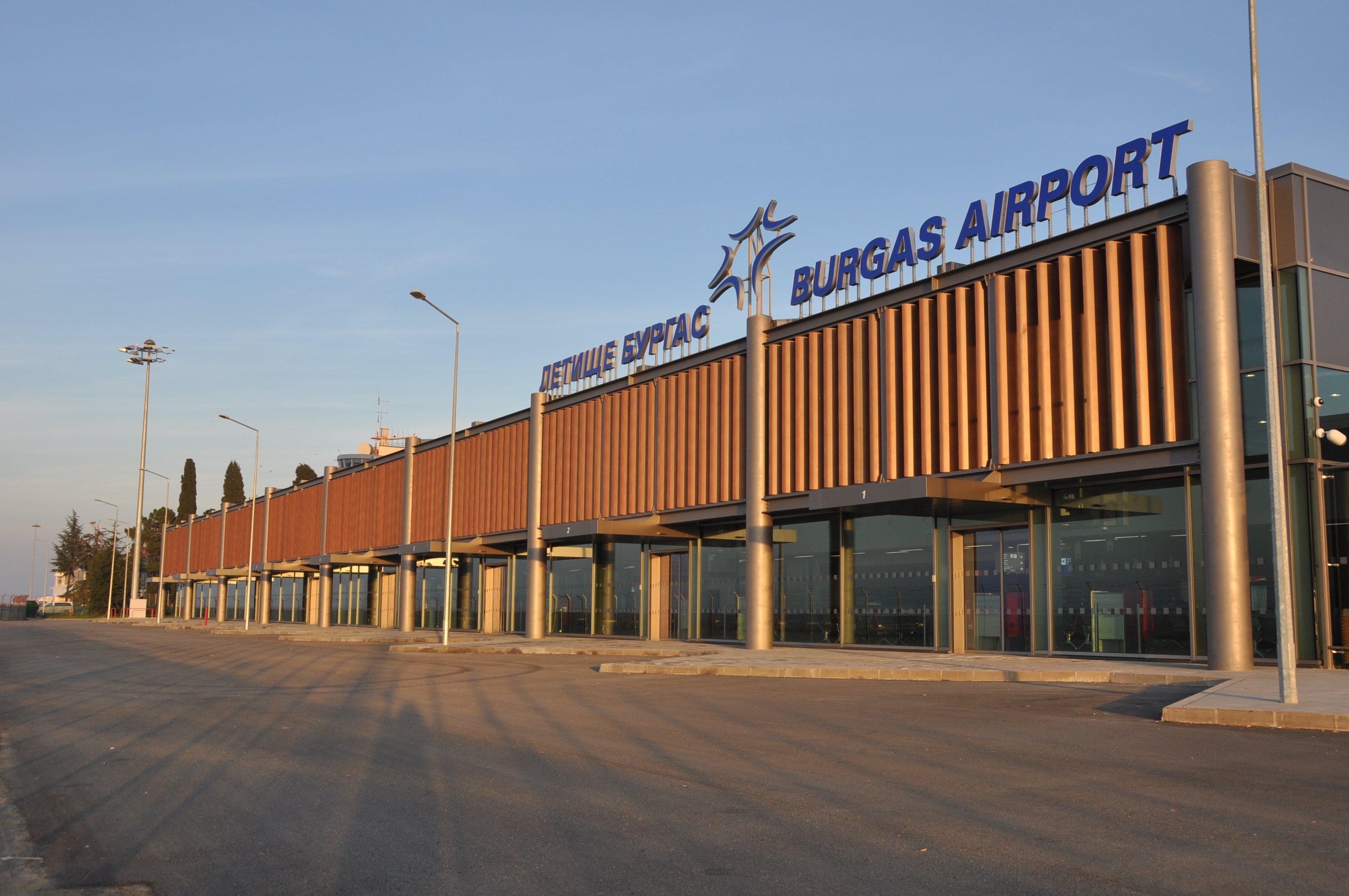 Аэропорт Бургас, как добраться?